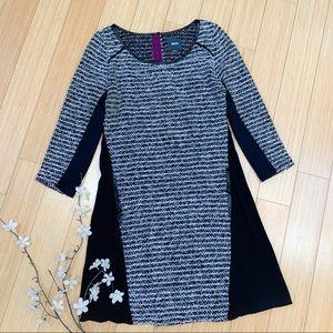 Anthropologie MAEVE Brooklyn tweed dress, S.